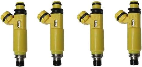 Denso Yellow Fuel Injectors 195500-4450 GENUINE OEM Mazda 04-08 RX-8