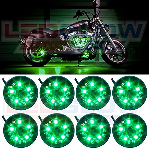 8pc motorcycle led lights - 2