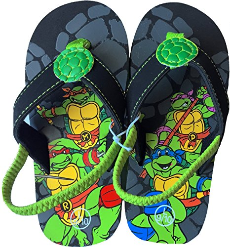 Teenage Mutant Ninja Turtles Toddler Boys Flip Flops (MEDUIM 7/8)