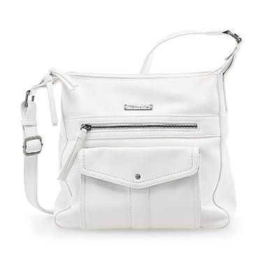 Damen ADRIANA Hobo Bag S Umhängetasche 2650181-100 in White Tamaris YA7lZD