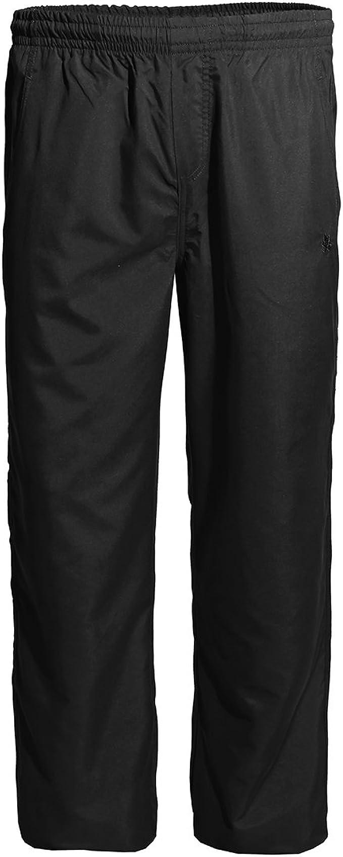 Pantalón de chándal de Microfibra XXL Negro Extra Largo Ahorn ...