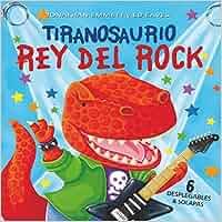 Tiranosaurio rey del rock (Libro Desplegable (elfos