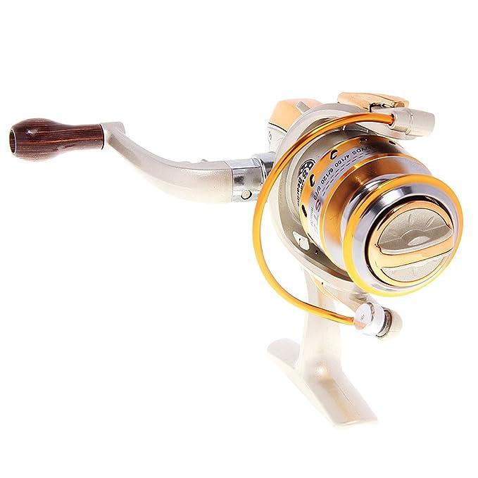 Kugellager Spinning Angelrolle Reel Metall Angeln Getriebe-spule Reel 4.3:1