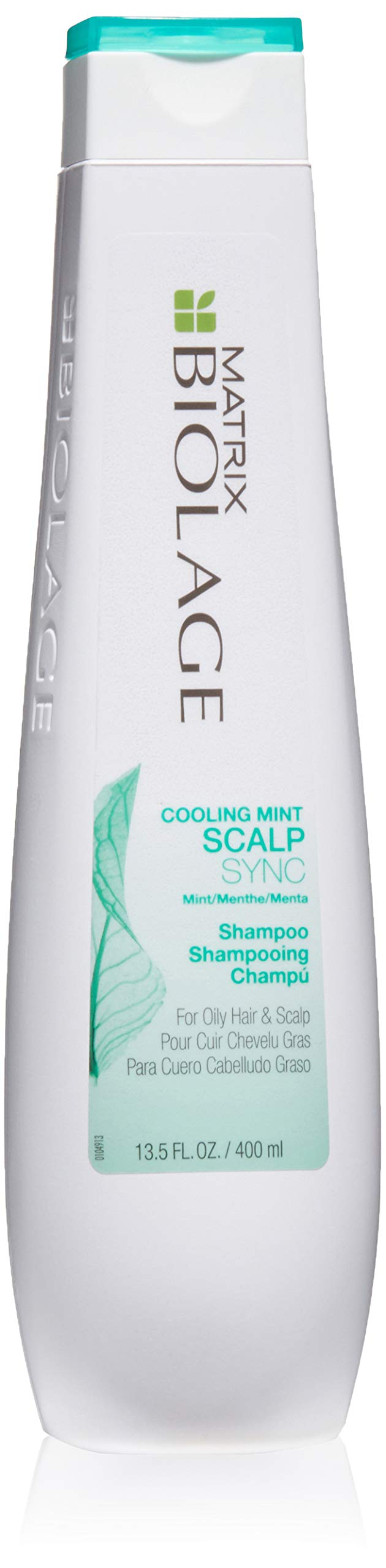 BIOLAGE Cooling Mint Scalpsync Shampoo | Cleanses Excess Oil From The Hair & Scalp | for Oily Hair & Scalp