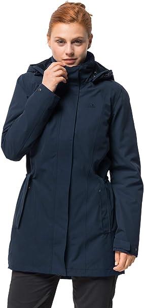 Jack Wolfskin Damen Madison Avenue Coat Mantel