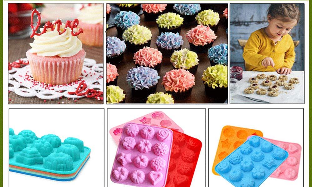 Molde de silicona para tartas, galletas, chocolate, cubitos de ...