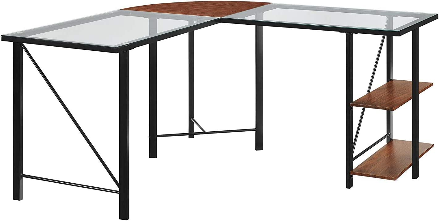 Wood & Style Cruz - Mueble de Cristal para Escritorio, diseño de ...