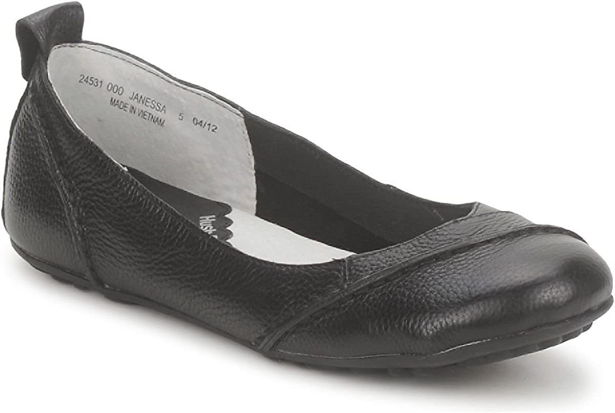 Women`n Janessa Leather Shoes Black