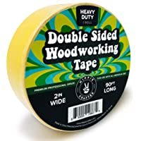 """Double Stick Tape for Woodworking - 2 inch Wide Wood Tape Double Sided for Woodworkers - 90FT x 2"""""""