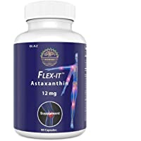 Astaxanthin Flexit Nature's Pure 12mg Triple Strength High Potency, Natural Joint...