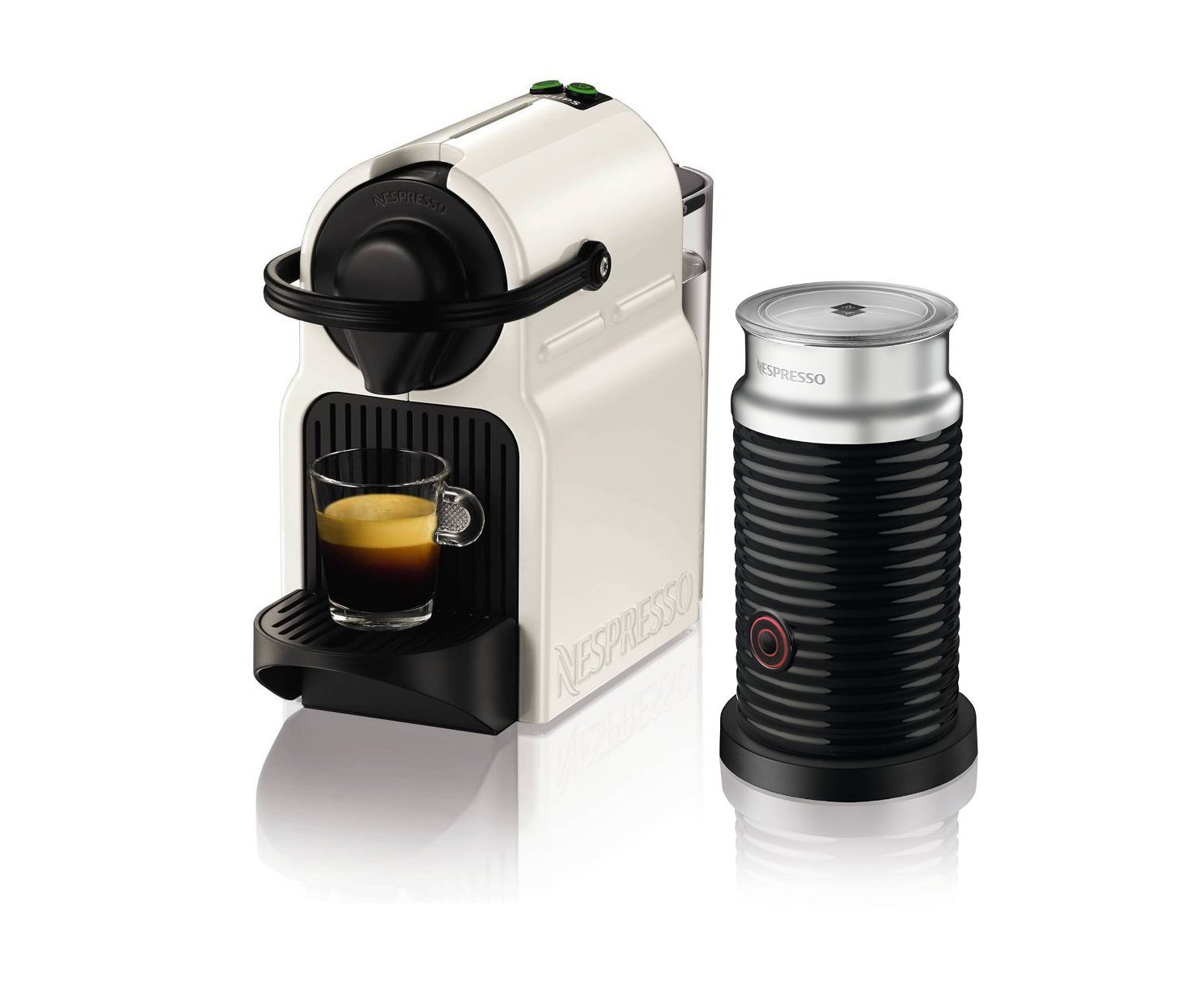 Electronic Krups Capsule Coffee Machine coffee machines shop makers amazon uk krups nespresso inissia capsule machine with aeroccino white