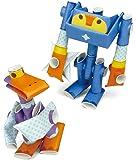 パイプロイド(PIPEROID) スモーク&ビル 2-in-1 紙工作 ロボット キット