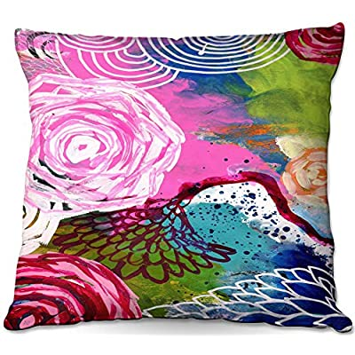 Outdoor Patio Couch Throw Pillows from DiaNoche Designs by Robin Mead - Freefall : Garden & Outdoor