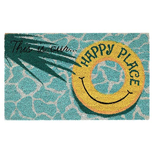 Liora Manne NTR12220804 Natura This is Our Happy Place Outdoor Rug, 18