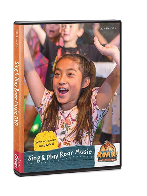 Amazon com: Sing & Play Music DVD - Roar VBS by Group: Home