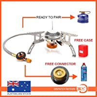 Outdoor Picnic Gas Jet Portable Stove Cooking Hiking Camping Burner Cooker Gear