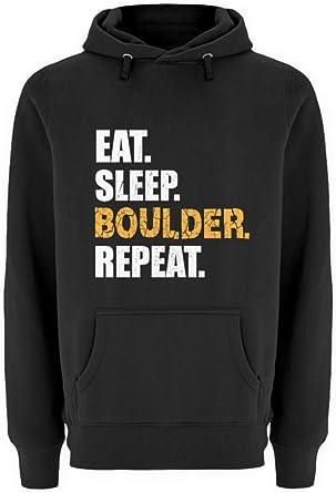 Sudadera genérica EAT Sleep Boulder Repeat Kletterwand ...