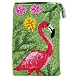 Bamboo Trading Company Cell Phone or Club Bag, Flamingo