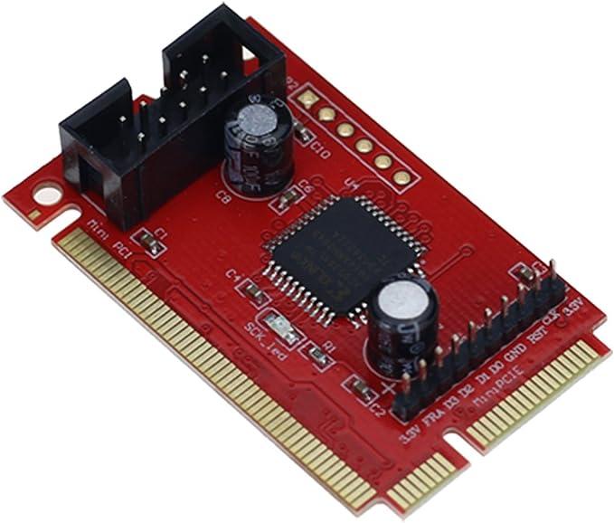 YUYUQ PCI Motherboard Diagnostic Tester Analyzer LCD Post Test Card for Desktop Laptop