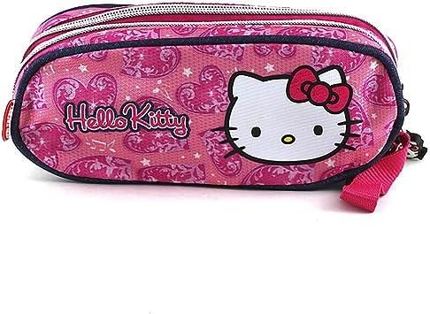 Hello Kitty 579 - Estuche de lápices Redondo: Amazon.es: Equipaje