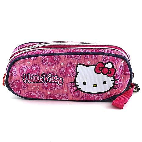 Hello Kitty 579 - Estuche de lápices Redondo: Amazon.es ...