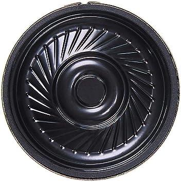 Perfk Ultradünne Lautsprecher 36mm Mit Diagonale Schraube Loch 8ohm 0 5 W Diy Zubehör Stimme Lautsprecher Auto