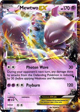 Pokemon - Mewtwo-EX (61/162) - XY BREAKthrough - Holo