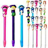 SunAngel Doctor and Nurse Polymer Caly BallPoint Pens Cute Novelty Lovely Cartoon for Writing Stationery School Office…