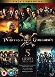 Pirates of the Caribbean 1-5 Boxset [Region 2]