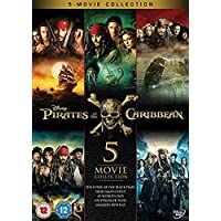 Pirates of the Caribbean 1-5 Boxset [DVD]