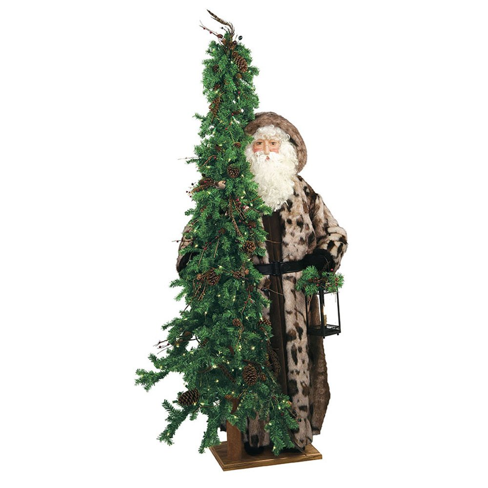 Ditz Designs Rainforest Radiance Santa with Tree by Ditz Designs by Hen House (Image #1)