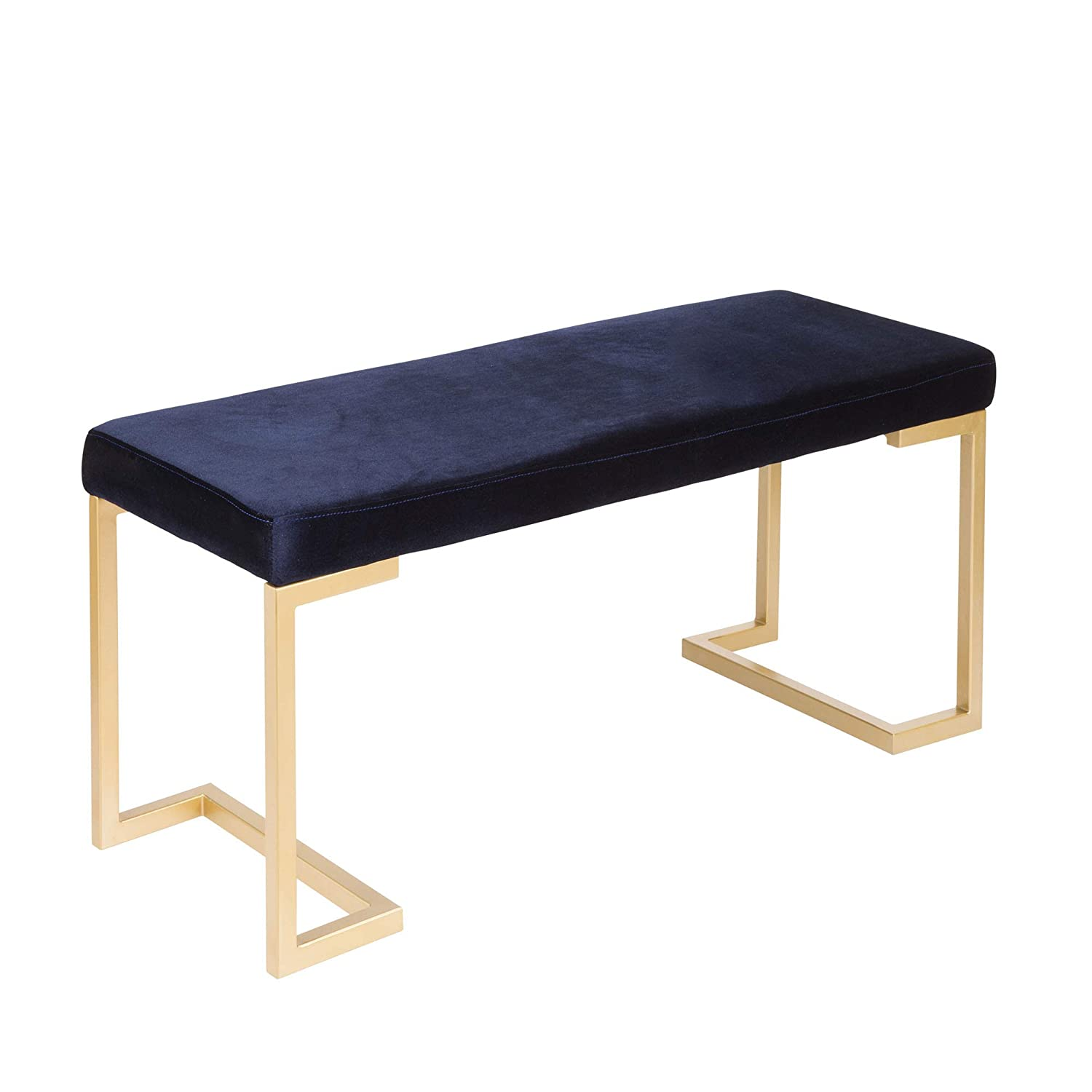 Fantastic Amazon Com Lumisource Contemporary Glam Dining Bench In Dailytribune Chair Design For Home Dailytribuneorg