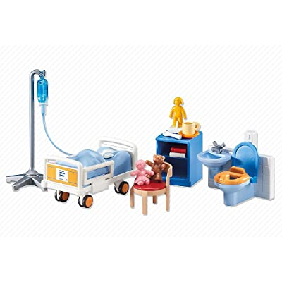 PLAYMOBILÂ Playmobil Add-On Series - Child Hospital Room: Toys & Games