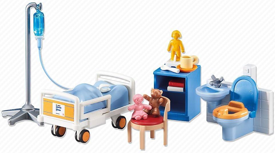 Playmobil Ergänzungen /& Zubehör Neu 6444 Kinder-Krankenzimmer