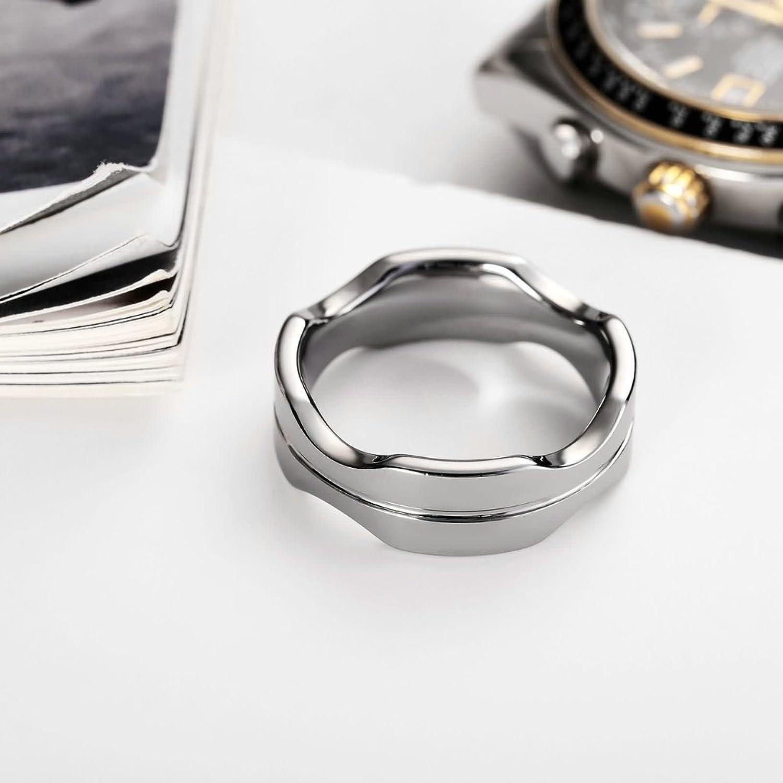 einzigartige Wolfram Ringe