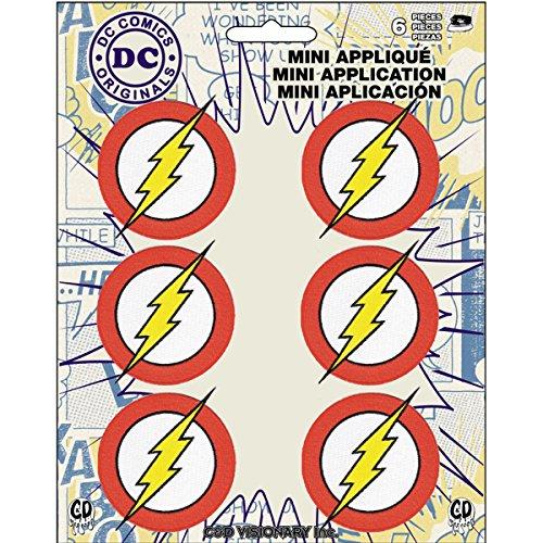 (Application DC Comics Originals Flash 6 Pat Ch Set Novelty, 2