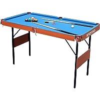 IFOYO Folding Pool Table, 55 Inch Folding Billiard Table Steady Modern Space Saving Pool Billiard Table