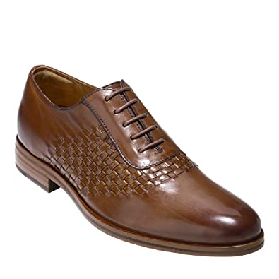 Cole Haan Men's Washington Grand Woven Saddle Woodbury Shoe