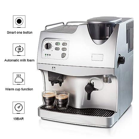 WLNKJ Cafetera Automático, Sistema De Espuma De Leche Función ...