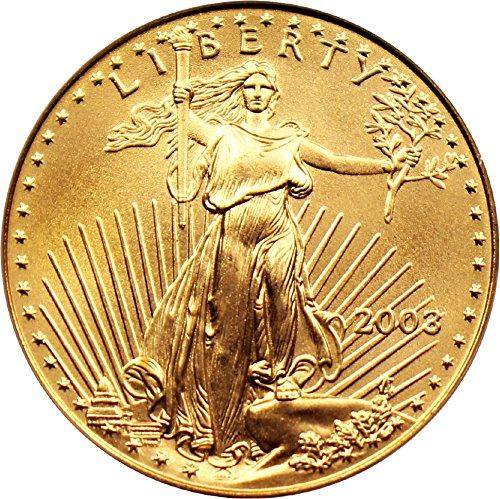 2003 P $25 American Eagles – Gold Gold Eagle Twenty Five Dollar MS69 PCGS