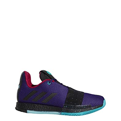 7a2b758e99e adidas Harden Vol. 3 Shoe Mens Basketball 8 Collegiate Purple-Core  Black-Aqua