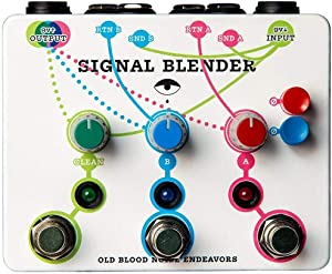 Old Blood Noise Signal Blender Parallel Routing Pedal