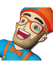 Wendao 12 inch Blippi pluche pop speelgoed voor kinderen party decor collectie_