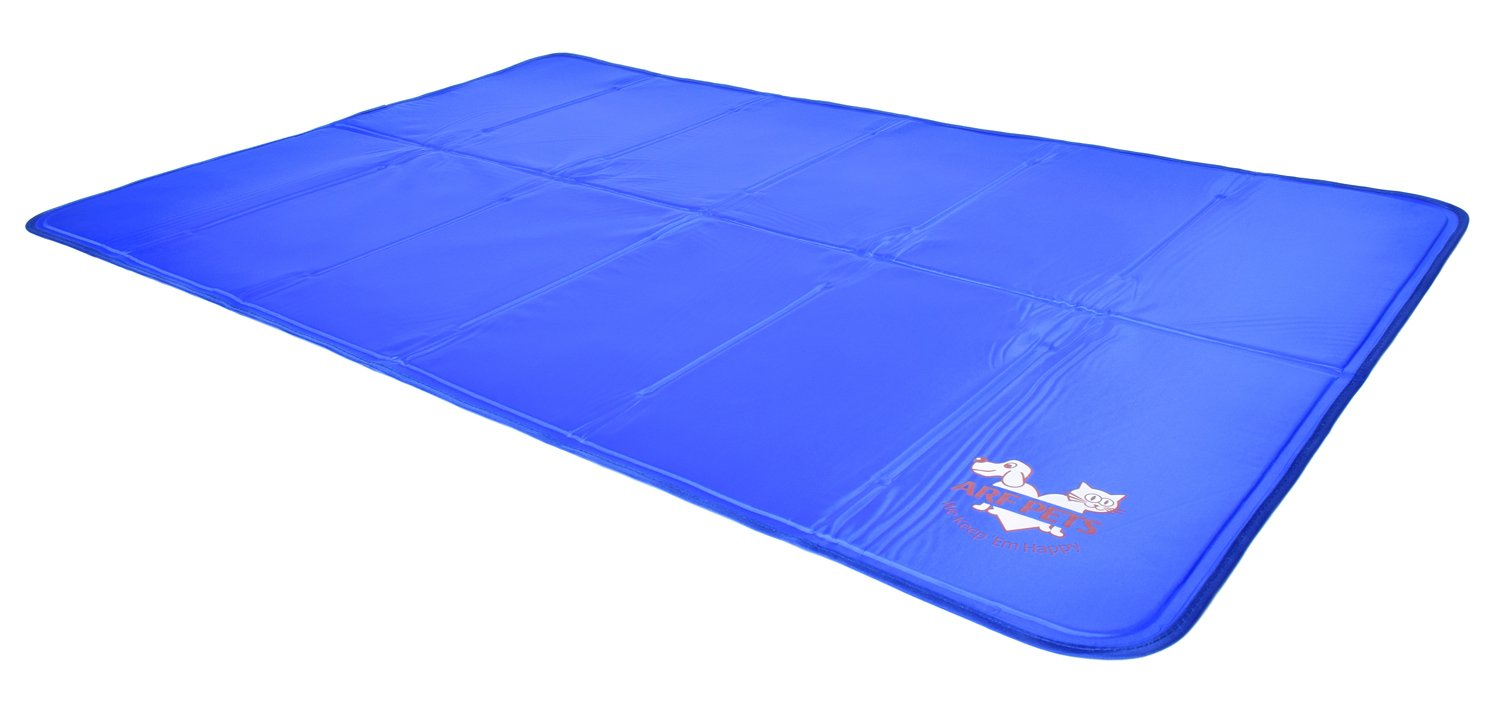 Arf Pets Pet Dog Self Cooling Mat Pad for Kennels, Crates and Beds 27×43