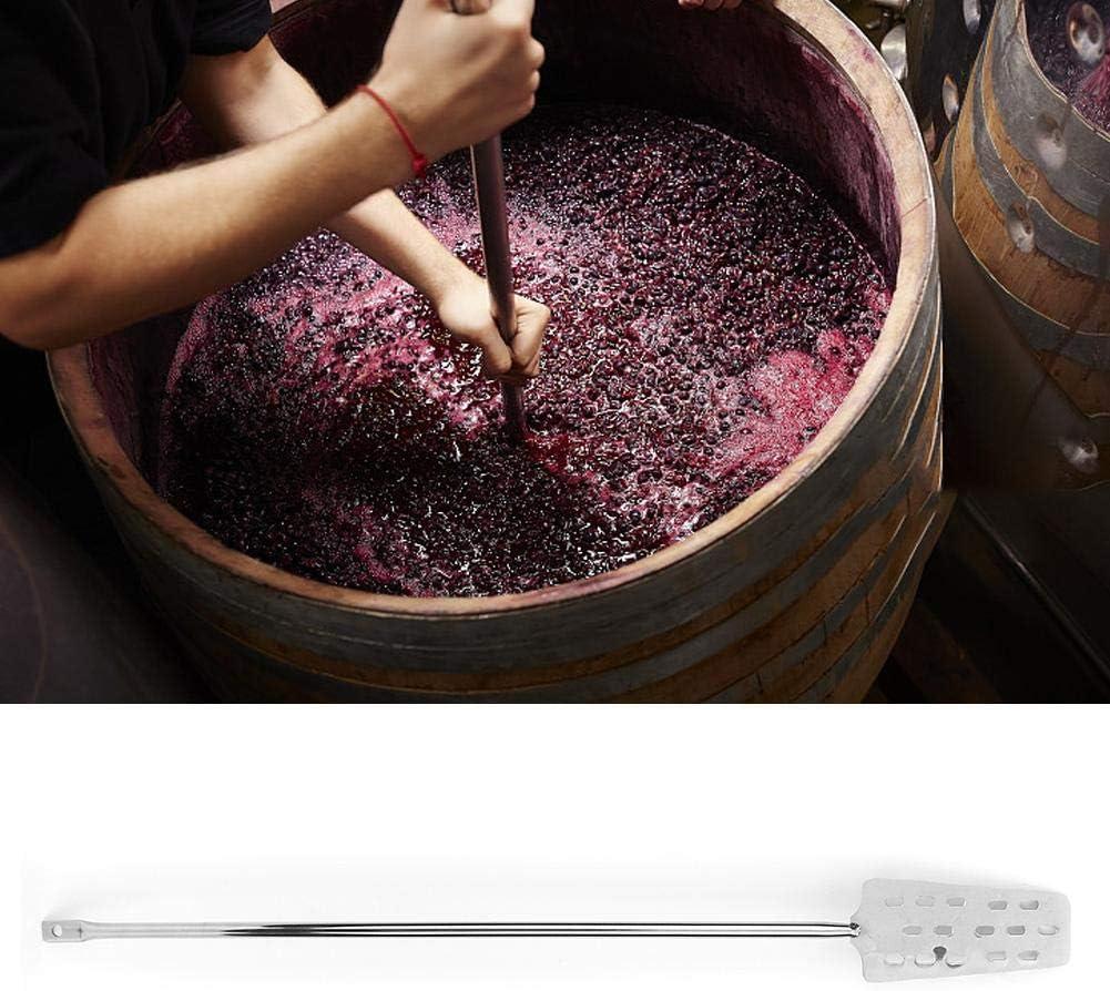 Naroote Agitador de Cerveza, hogar Mezclador de Cerveza de Acero Inoxidable 304 Agitador de Mezcla de Vino Equipo de preparación para el hogar