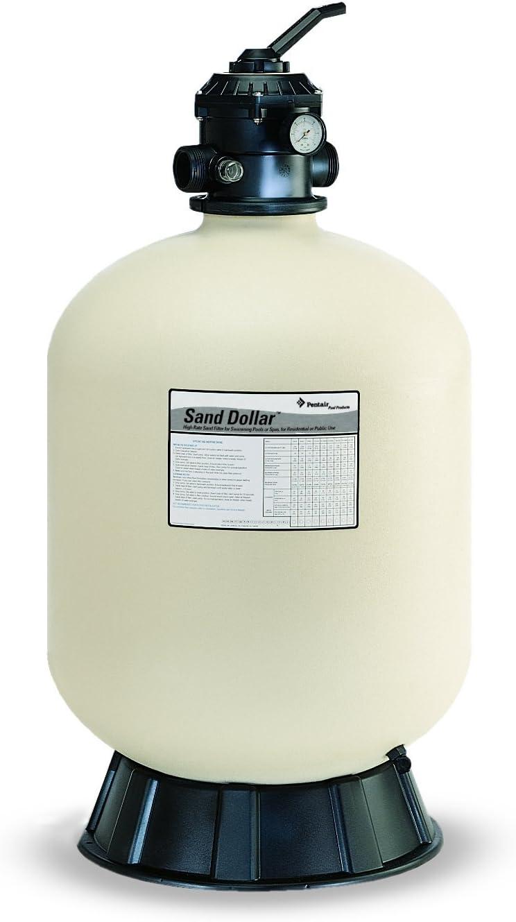Pentair 145322 Sand Dollar Top-Mount Pool Filter - (Best Budget)