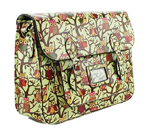 Miss lulu, sac bandoulière pour femme - - - Satchel Green,
