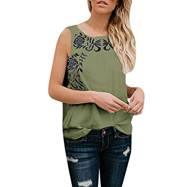 NREALY Women Casual Solid Sleeveless Hollow Out Collar Tank Top Blouse Tee  Vest at Amazon Women s Clothing store