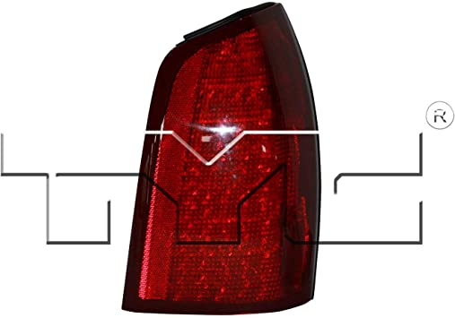 TYC 11-5939-00-1 GM Compatible with CADILLAC Deville Right Replacement Tail Lamp