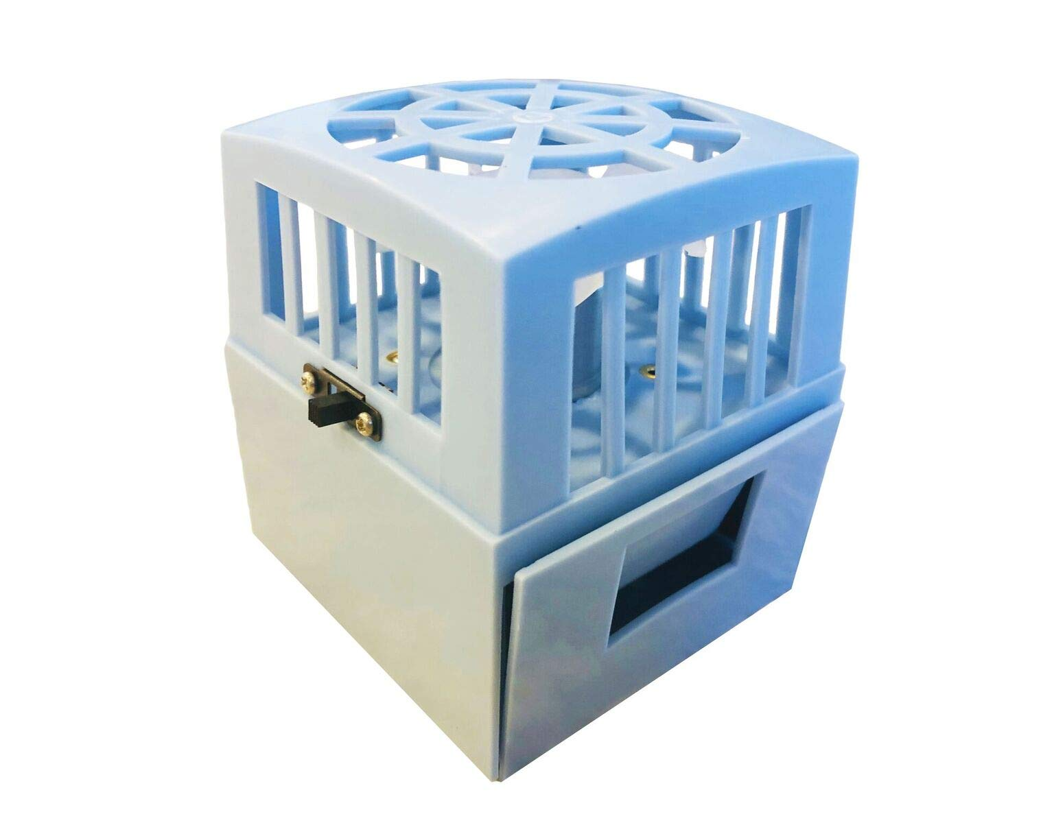 RV Fridge Fan Increase Mini Fridge Cooling Time and Circulation (Battery Powered) by Professional EZ Travel Collection